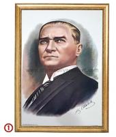 Çerçeveli Atatürk Posterleri Elit