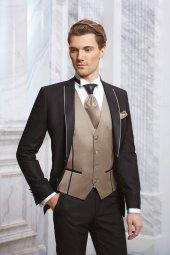 Erkek - Slimfit - Takım - Damatlık - Elbise - Siyah - MNZ111700
