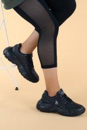 U.S. Polo Assn. Lovely Günlük Bayan Spor Ayakkabı Siyah