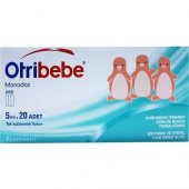Otribebe Monodoz İzotonik ve Steril Deniz Suyu 5 ml 20 Flakon