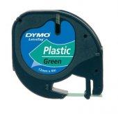 Dymo Letratag Plastik Şerit 12 mm X 4 Metre Yeşil
