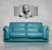 Marilyn Monroe 5 Parçalı Mdf Tablo