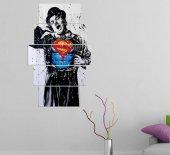 Supermen Charlıe Chaplın 5 Parçalı Mdf Tablo