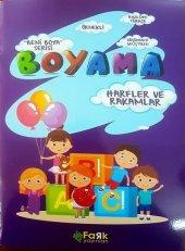 Beni Boya Serisi - Harfler ve Rakamlar - Fark Yayınları