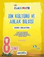 8. Sınıf Classmate Din Kültürü Ve Ahlak Bilgisi Konu Anlatımı Okyanus yayınları