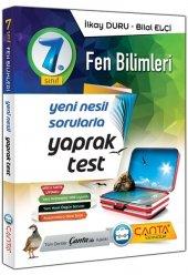 7.Sınıf Fen Bilimleri Yaprak Test Çanta Yayınları