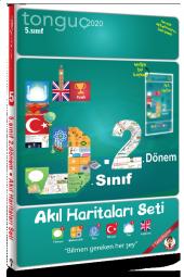 5. Sınıf 2. Dönem Akıl Haritaları Seti Tonguç Akademi Yayınları