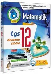 8.Sınıf Lgs Matematik 12 Deneme Çanta Yayınları