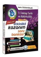 8.Sınıf İnkılap Tarihi ve Atatürkçülük Kazanım Soru Bankası Çanta Yayınları
