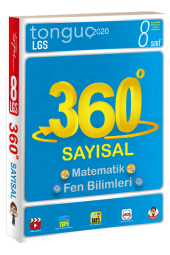 8.Sınıf 360 Tüm Dersler Sayısal Soru Bankası Tonguç Akademi Yayınları