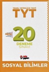 TYT Sosyal Bilimler 20 Deneme Sınavı Metin Yayınları