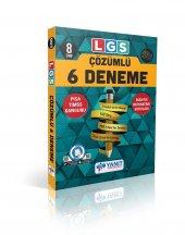 8. Sınıf LGS Çözümlü 6 Deneme Yanıt Yayınları