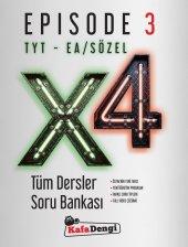 TYT EA Sözel X4 Tüm Dersler Soru Bankası Episode 3 Kafa Dengi Yayınları