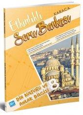 8. Sınıf Din Kültürü ve Ahlak Bilgisi Etkinlikli Soru Bankası Karaca Eğitim Yayınları