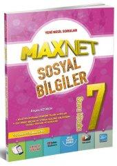 7. Sınıf Sosyal Bilgiler MaxNet Soru Kitabı Karaca Eğitim Yayınları