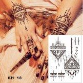 Geçici Dövme Çeşitleri Tattoo 2 Alana 1 Hediye
