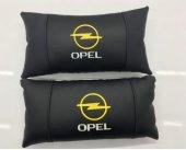 Ortopedik Opel Araç Boyun Yastığı Deri 2 ADET
