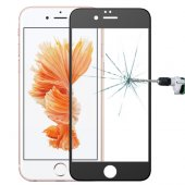 İphone 6 Plus 6s Plus 3d Full Kaplama Cam Ekran Koruyucu - SİYAH