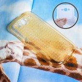 Galaxy Grand İ9082 İ9060 Kristal Soft Silikon Kılıf - GOLD