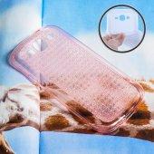 Galaxy J5 J500 Kristal Soft Silikon Kılıf - FÜME