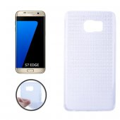 Galaxy S7 Edge G935 Kristal Soft Silikon Kılıf - ŞEFFAF