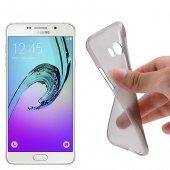 Samsung Galaxy A7 (2016) A710 Ultra Slim Soft Silikon Kılıf - SİYAH