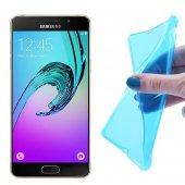 Samsung Galaxy A5 (2016) A510 İçin  Soft Silikon Kılıf - MAVİ