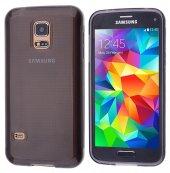 Galaxy S5 Mini Silikon Kılıf - GRİ