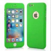 Apple İphone 6,6s Plus Kılıf 360 Derece Koruma - YEŞİL