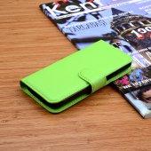 Galaxy İ9190 S4 Mini Standlı Cüzdan Kılıf - YEŞİL