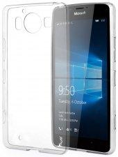 Microsoft Lumia 950 Xl 20mm Spada Ultra İnce Soft Silikon Kılıf - ŞEFFAF