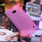 Microsoft Lumia 640 Şeffaf Silikon Kılıf - FUŞYA