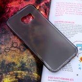 Samsung Galaxy S6 Edge G925 Şeffaf Silikon Kılıf - MAVİ