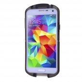 Galaxy S5 İ9600 Şeffaf Silikon Kılıf - SİYAH