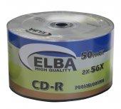 Elba CD-R 700MB-80MIN 56x 50li Shrink