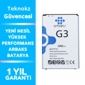 LG G3 Batarya BL-53YH Orjinal Arbaks Batarya