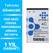 Nokia BL-4C Batarya 1200/6300/1110 Orjinal Arbaks Batarya