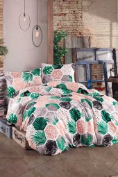Taşan Tekstil Çift Kişilik Nevresim Set-hawai