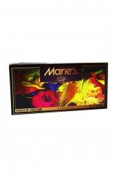 Maries 12 Renk Akrilik Boya 812B 12 Ml Mrmar0017