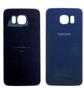 Samsung Galaxy S6 G920 İçin Arka Batarya Kapağı Lens - MAVİ