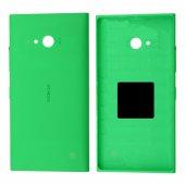Nokia Lumia 730,735 Arka Kapak Pil Kapağı - YEŞİL