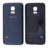 Samsung Galaxy S5 Mini G800 İçin Arka Kapak Pil Kapağı - SİYAH