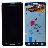 SM Galaxy A3 A300 Lcd  Ekran Ve Dokunmatik (or) - SİYAH