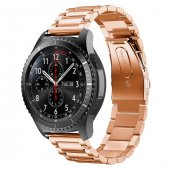 Sm Gear S2,R600 Watch S4 42mm,Huawei Watch Gt,20mm Kordon Kayış - BRONZ