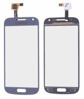 Çin Kore İ9190 S4 Mini (4329d) Dokunmatik Touchscreen - MAVİ
