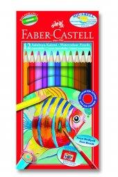 Faber Castell Aquarel Suluboya Kalemi 12 Renk Karton Kutu