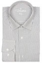 Erkek Klasik Kesim Tek Cepli Uzun Kollu Beyaz Erkek Gömlek
