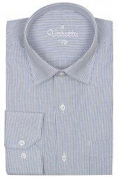 Beyaz Erkek Klasik Kesim Tek Cepli Uzun Kollu Erkek Gömlek