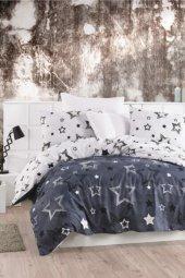 Taşan Tekstil Tek Kişilik Nevresim Takımı-stars