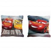 Taç Lisanslı Disney Cars 3 Kırlent Yastık 40*40